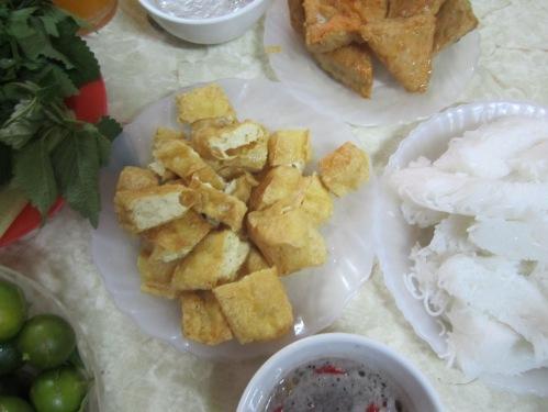 Bún đậu ngõ Phất Lộc, Hà Nội. Ảnh: Phanxipăng