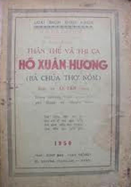 """Danh hiệu """"Bà chúa thơ Nôm"""" dùng để tôn vinh nữ sĩ Hồ Xuân Hương do ai tạo nên? Không phải do Xuân Diệu, mà đích thực do Lê Tâm."""