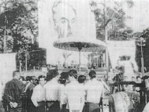 Lễ truy điệu Nhất Linh tại Sài Gòn năm 1964