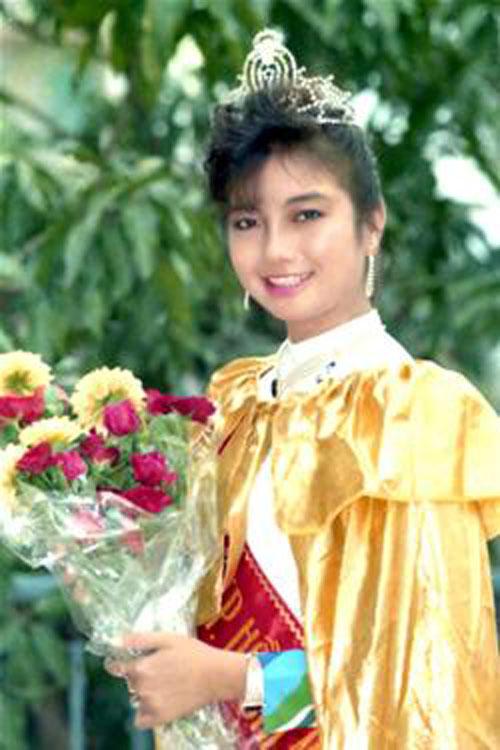 Lý Thu Thảo – hoa hậu áo dài TP.HCM 1989