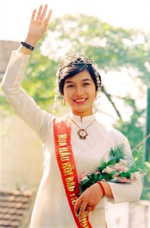 Bùi Bích Phương – hoa hậu hội báo Tiền Phong 1988