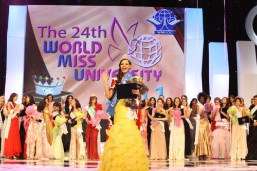 Siria Ysabel Bojórquez (Hoa Kỳ) đăng quang Hoa hậu sinh viên thế giới 2011