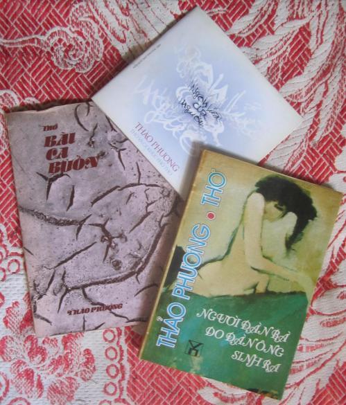 Một số ấn phẩm của Thảo Phương. Ảnh: Phanxipăng