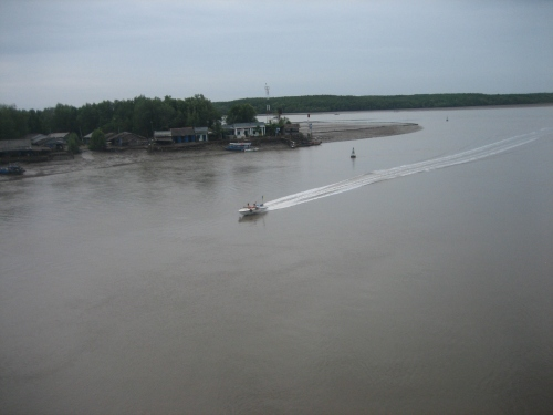 Sông Dần Xây ở huyện Cần Giờ. Ảnh: Phanxipăng