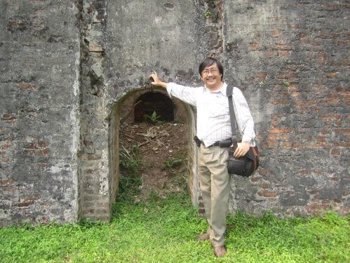 Phanxipăng thăm Hổ Quyền ngày 12-3-2013. Ảnh: Lưu Ly