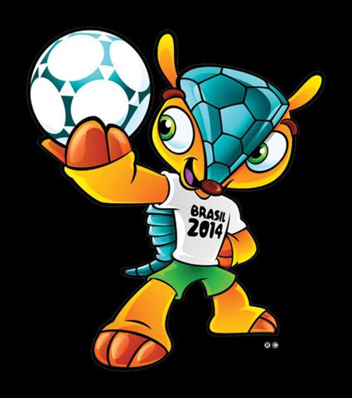 Futebol - linh vật / mascot chính thức của World Cup 2014