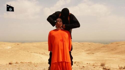 Nhà báo James Foley bị cắt cổ