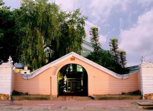 Nhà lưu niệm Đông Hồ - Mộng Tuyết tại Hà Tiên. Ảnh: Quang Trưởng
