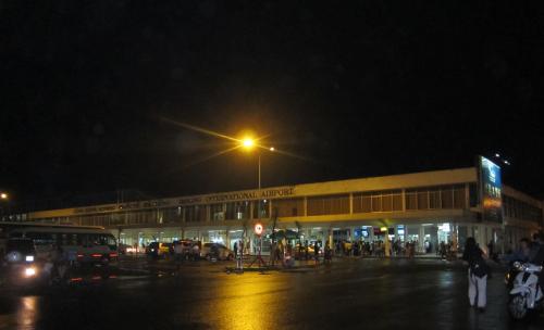 Cảng hàng không quốc tế Đà Nẵng về đêm. Ảnh: Phanxipăng