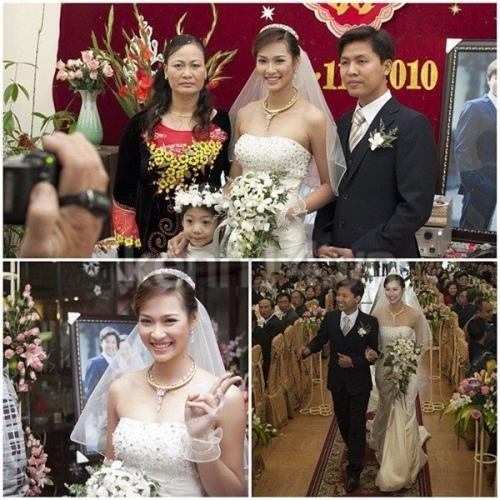 Nàng dâu Vương Thu Phương & chú rể Bùi Huy Phương đám cưới tại Hải Dương ngày 29-1-2010